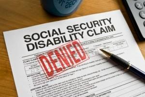 Social Security Disability Claim Denied